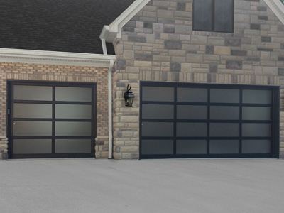 General Doors Garage Doors flat panel aluminum