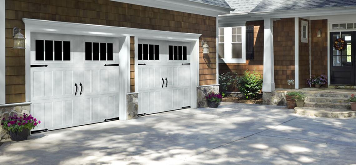 Amarr Garage doors installed by Paravarti