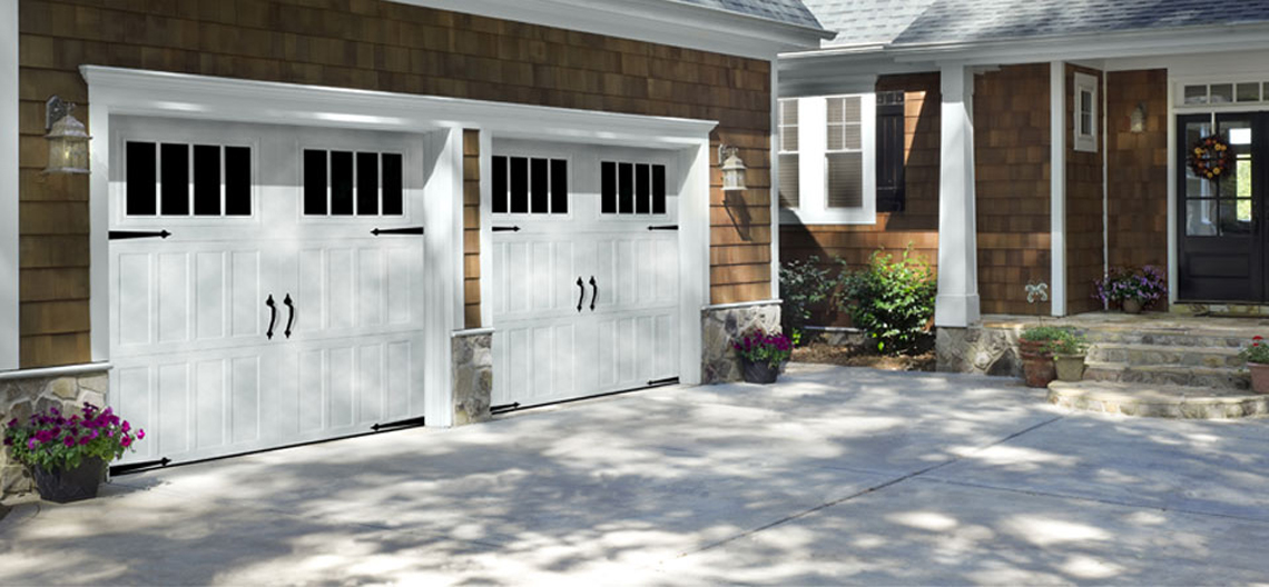 Amarr Garage doors installed by Paravarti